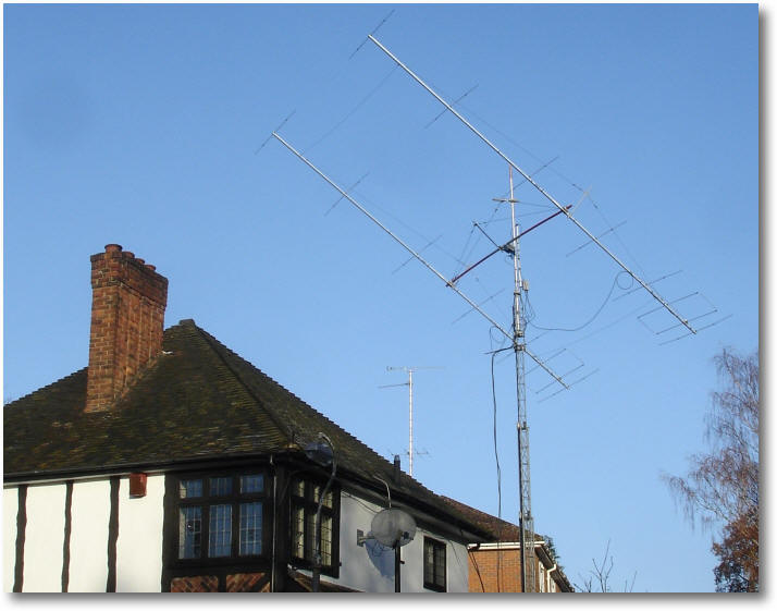 G3WOS 6M 50Mhz earth-moom-earth EME page