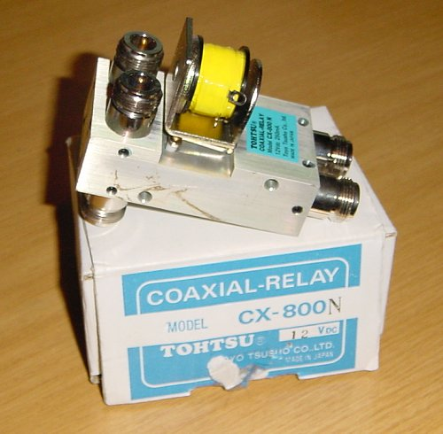 The Tohtsu coaxial antenna change-over relay