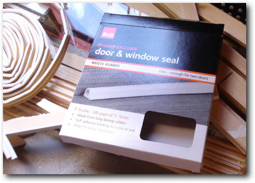 Easy low cost do it yourself secondary glazing this will seal the gap between the secondary glazing and the window frame solutioingenieria Choice Image